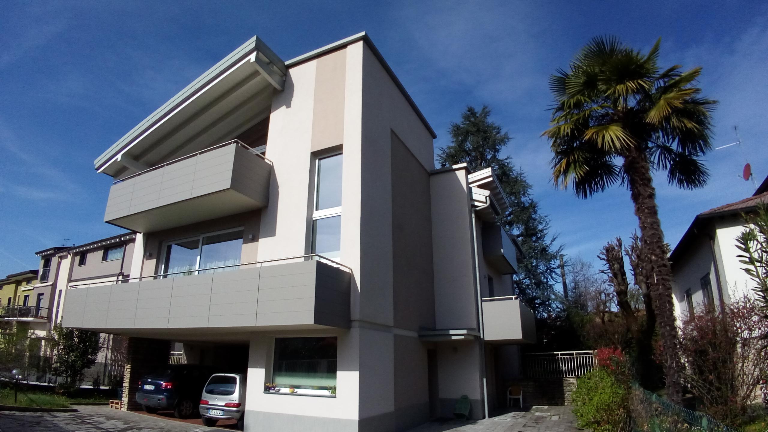 Ristrutturazione integrale di villa anni '60 in Bg
