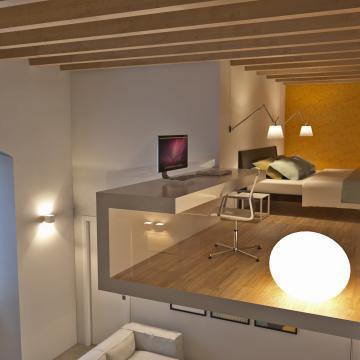 Rendering appartamento più piccolo_Soppalco
