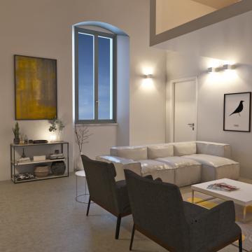 Rendering appartamento più piccolo_Soggiorno