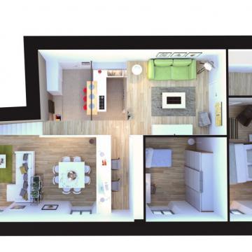Pianta appartamento grande_Soppalco