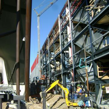 Urbanizzazioni Ceroni Costruzioni: sottoservizi e infrastrutture esterne Padiglioni Usa e Kuwait Milano Expo 2015