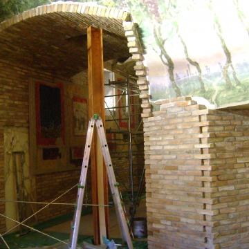 Realizzazione di Interni Ceroni Costruzioni: Padiglione del VINO Milano Expo 2015