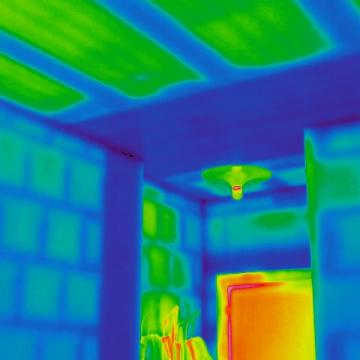 Termografia c/o edificio in ristrutturazione a Villa d'Almè